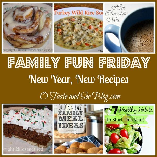 new year new recipes