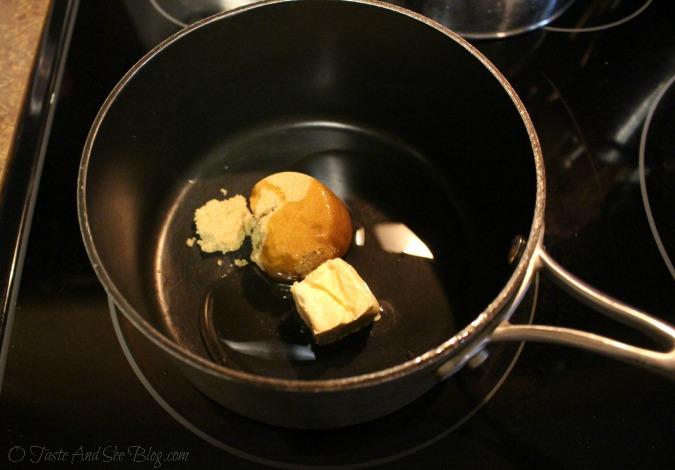 praline Granola snack mix # spon