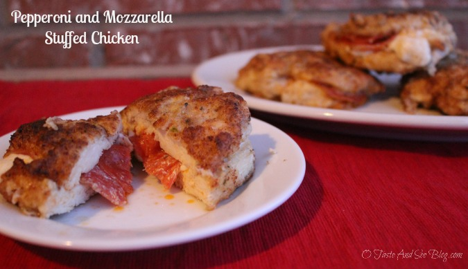 Pepperoni and Mozzarella Chicken