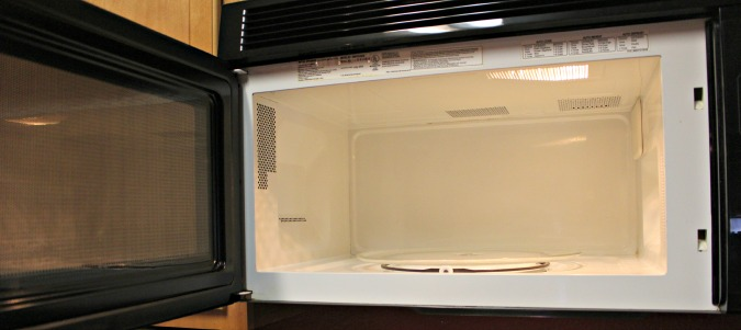 TST Cleaning microwave