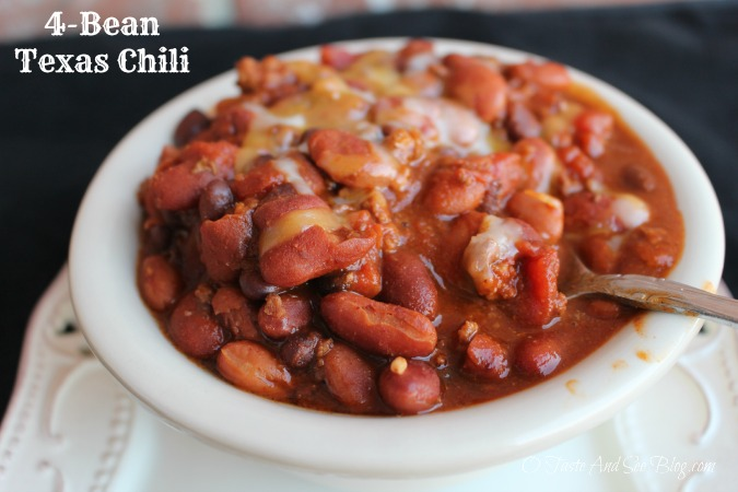 4 bean texas chili