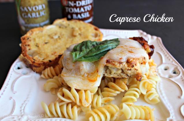 Caprese Chicken #sp