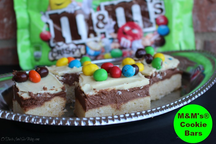 #CrispyComeback M&M Coolkie Bars #ad