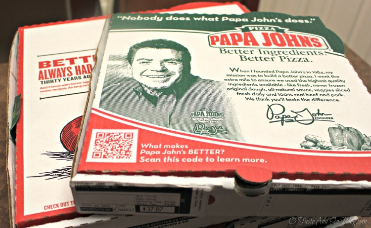 Papa John's #BetterIngredients #sp