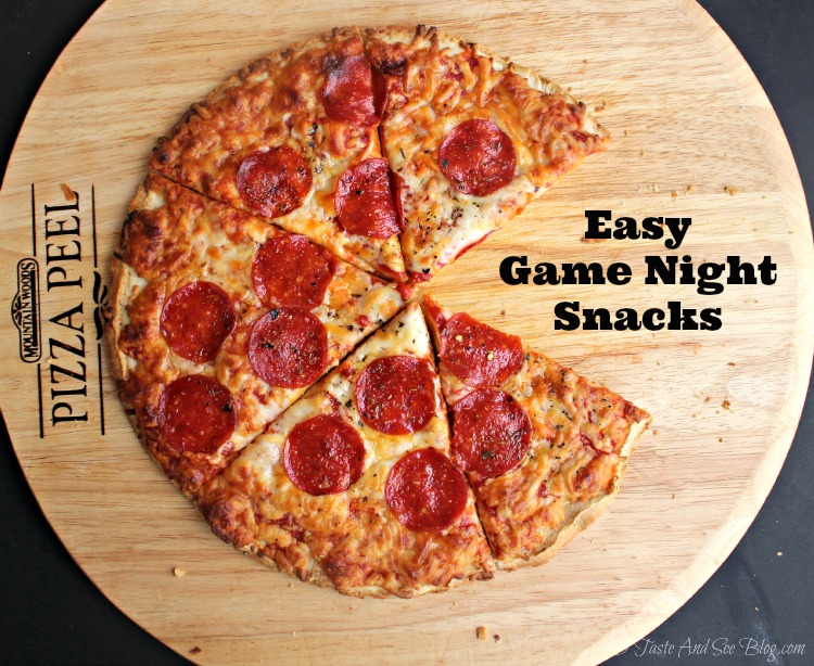 Easy Game night Snacks #BigPizzeriaTaste