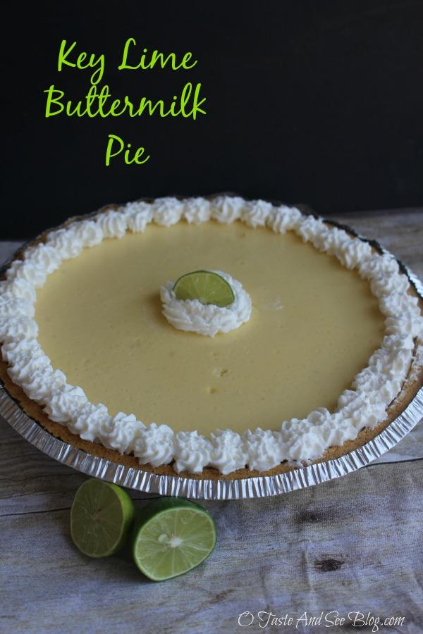 Key Lime Buttermilk Pie