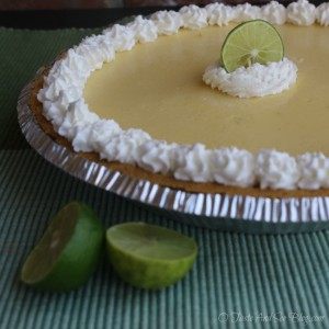 Key Lime Buttermilk Pie