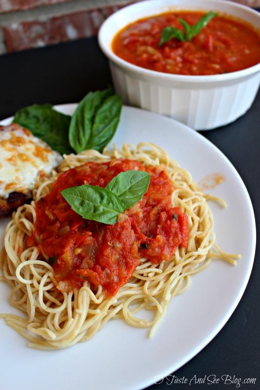 Tomato Basil sauce 28