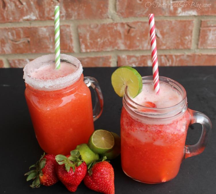 strawberry limeade