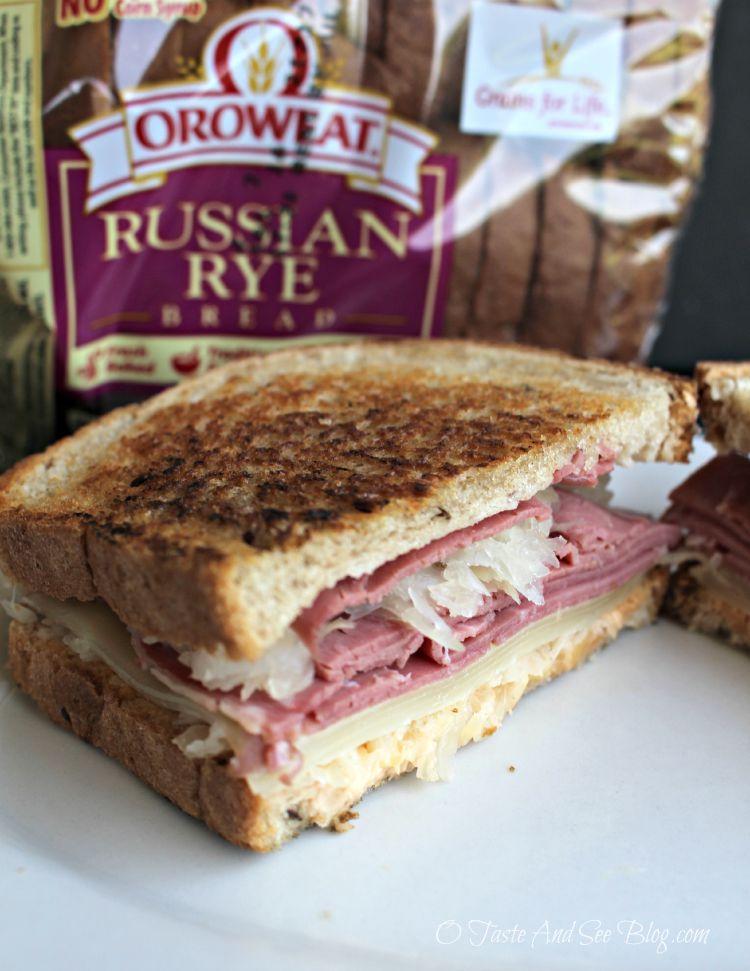 #America's Better Sandwich Oroweat Reuben #ad 5