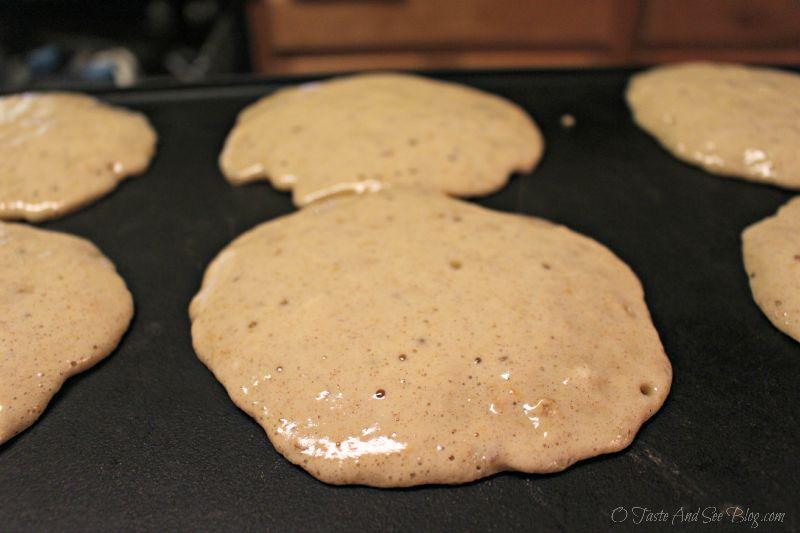 Chocolate Decadence Granola Pancakes