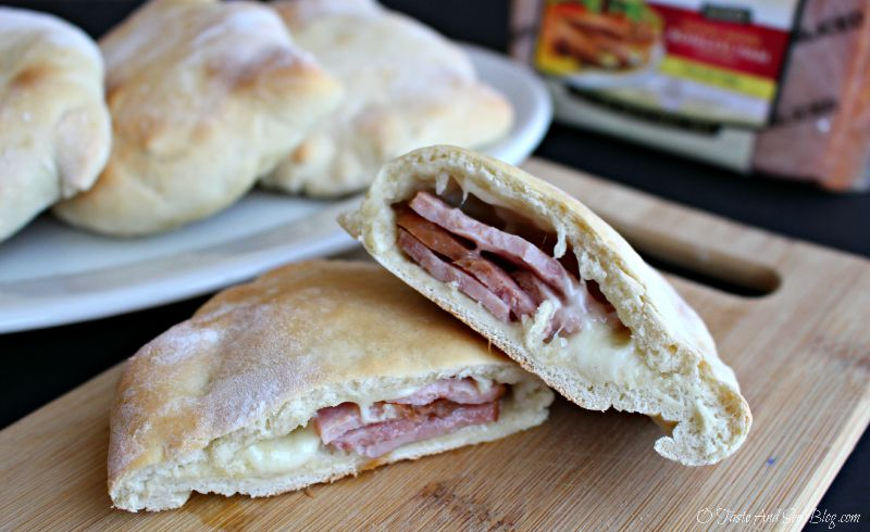 Ham and Cheese Pocket Sandwiches #SmithfieldHambassador #ad