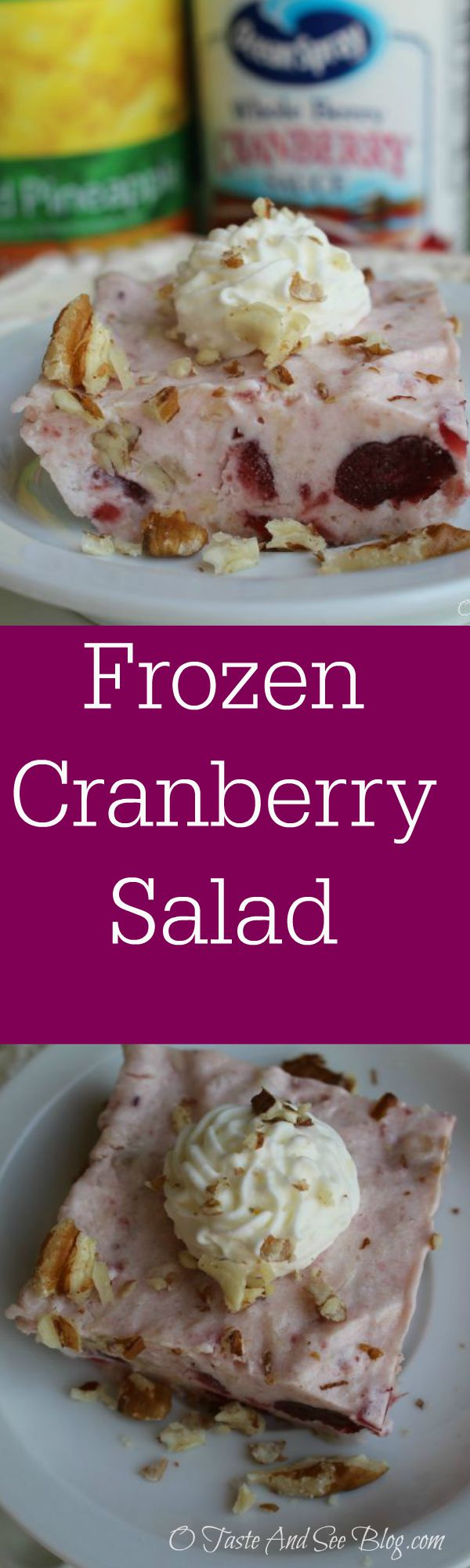 frozen cranberry salad