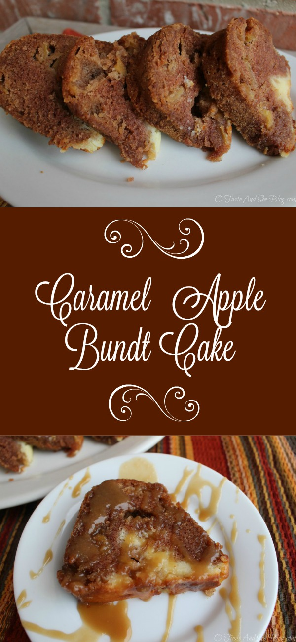Caramel Apple Bundt Cake P