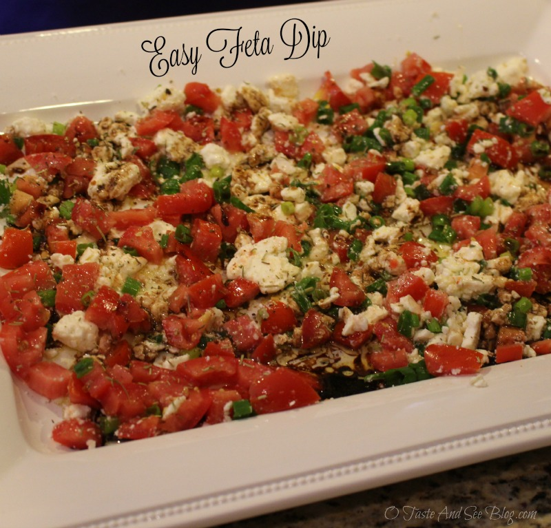 Easy Feta Dip #7DaySwitchUp AD `