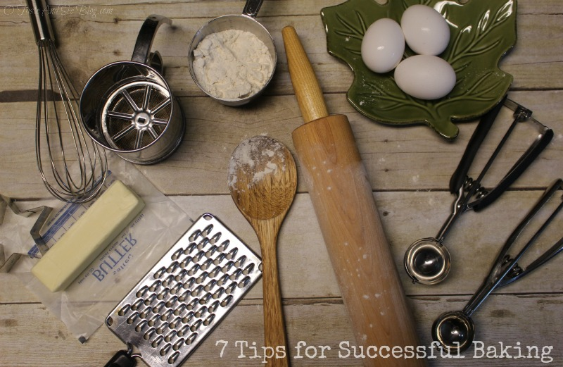 Tips for successful baking