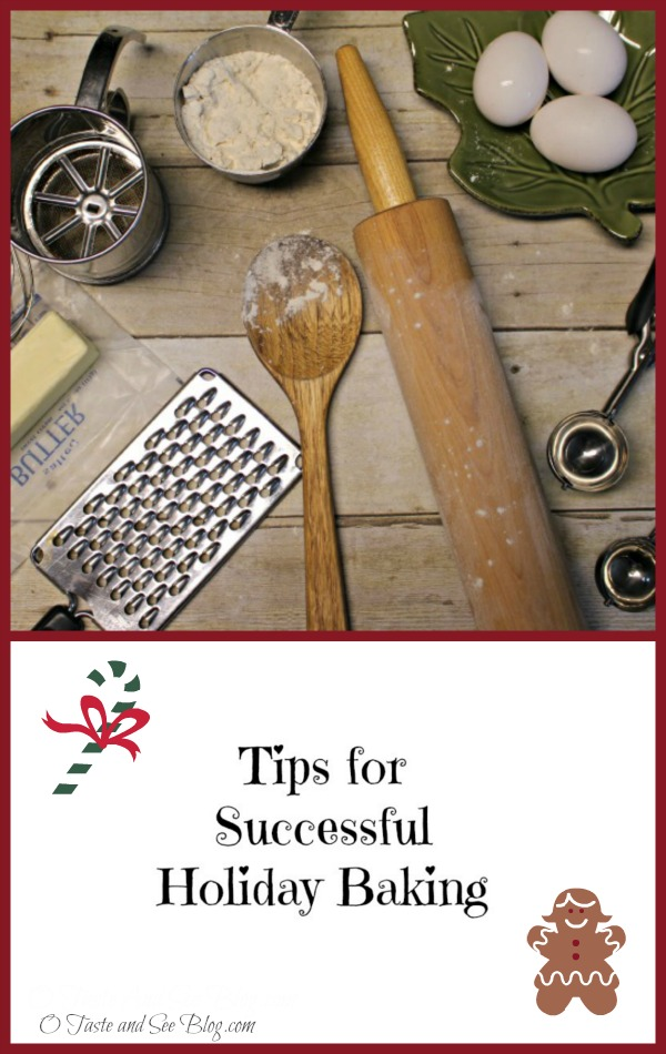 Tips for successful holiday baking