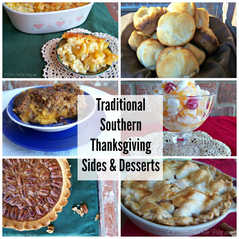 Traditional Southern Thanksgiving sides
