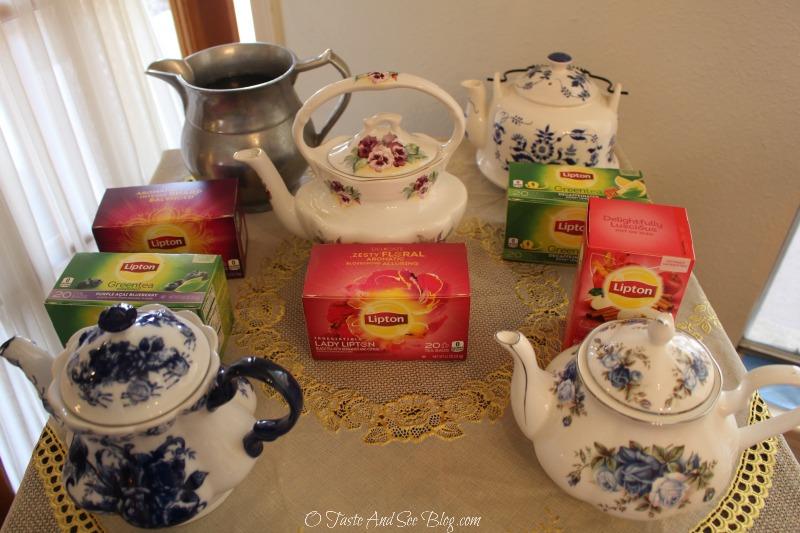 Planning an afternoon tea #LiptonTeaTime #sponsored