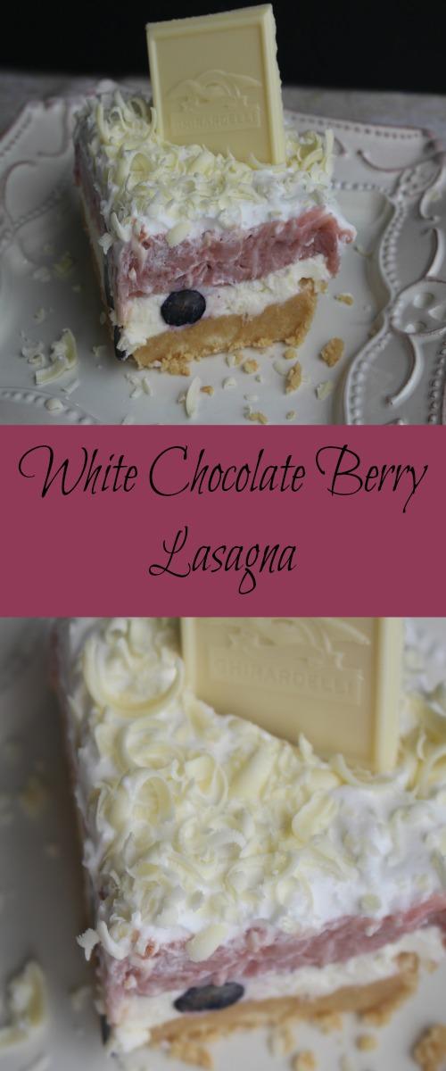 White Chocolate Berry Lasagna