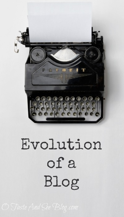 evolution of a blog