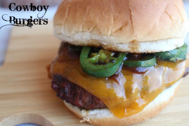 Cowboy Burgers #ad