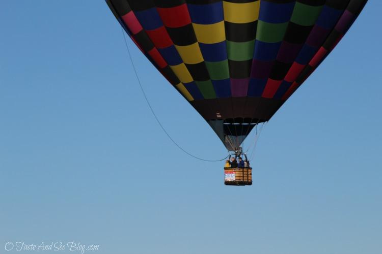 Hot Air Balloon Ride Bucket List