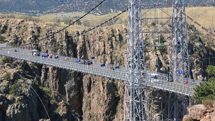 Royal Gorge Bridge #ad #visitcos