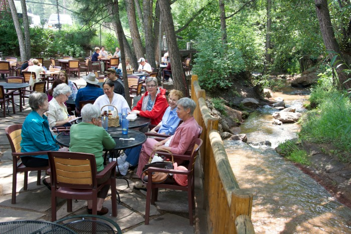 Creekside dinning 2 #ad #visitcos