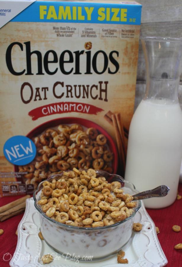 Cheerios Oat Crunch #CheeriosOatCrunch #ad