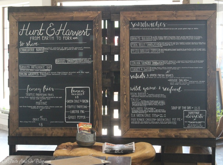 Hunt and Harvest at the Mercantile