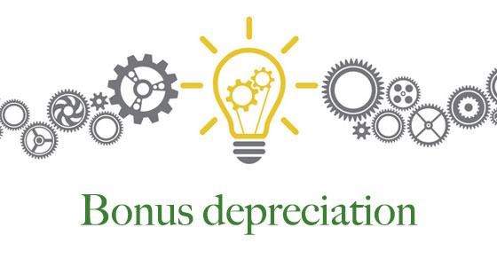 Five key points about bonus depreciation