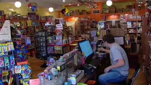Man Playing Games In Chicago