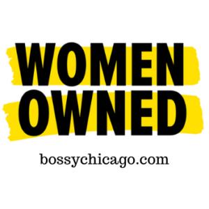 women owned Bossy Chicago logo