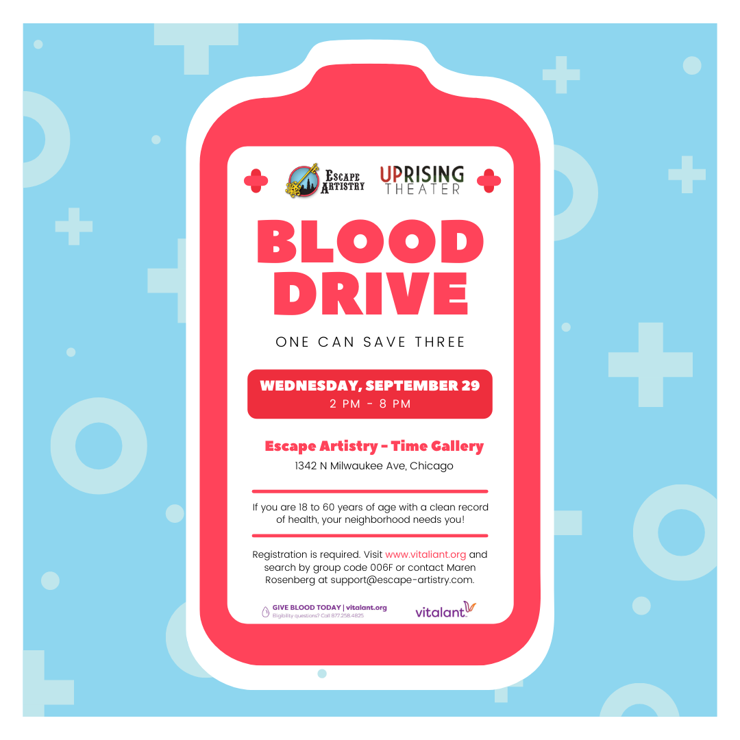 One Can Save Three: Fall Blood Drive