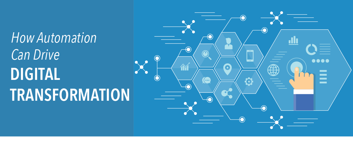How Automation Can Drive Digital Transformation (Inforgraphic)