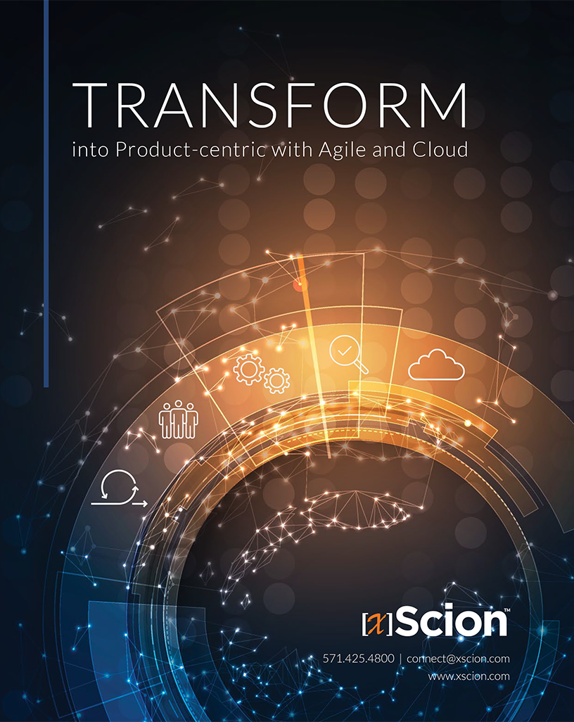 eBook: Transform into Product-centric with Agile & Cloud