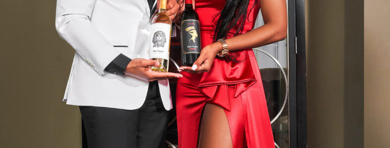 Carissa and Kenneth Stephens - Owners of Pur Noire Wines