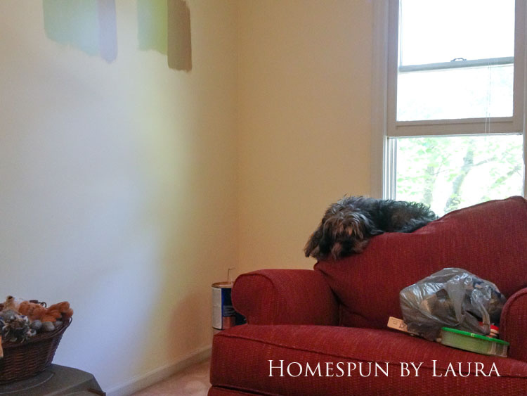 Master bedroom refresh | Homespun by Laura | The master bedroom: Before