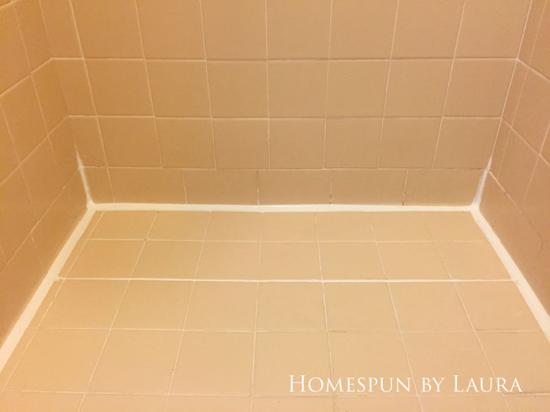Removing the old caulk and replacing it with fresh, clean lines makes an instant impact.