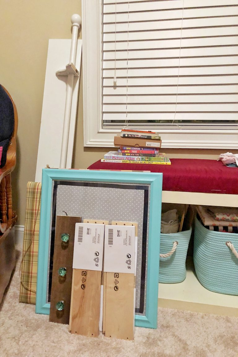 Vintage Toy Neutral nursery supplies - Fall 2018 One Room Challenge