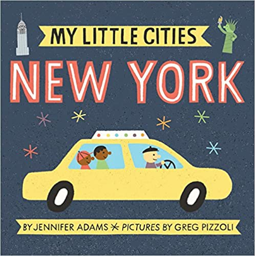 My Little Cities New York Board Book
