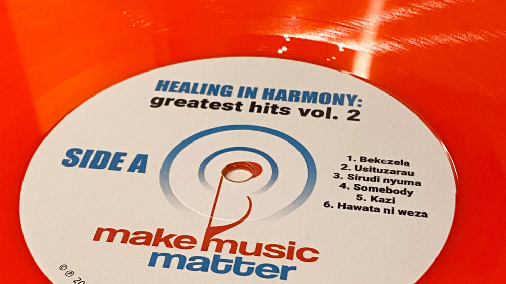Vinyl Release – Healing in Harmony, Greatest Hits Vol. 2