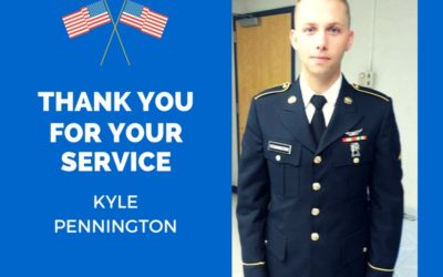 Thank you for your service, Kyle!