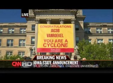 IOWA STATE UNIVERSITY - INTERVIEW