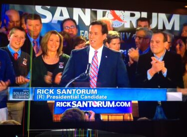 RICK SANTORUM PRESIDENTAL CANIDATE