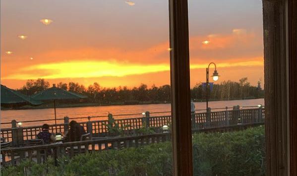 sunset over the cape fear river wilmington north carolina