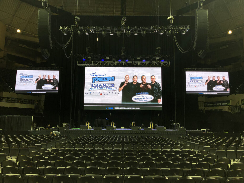 Video Wall Rentals from Creative Audio
