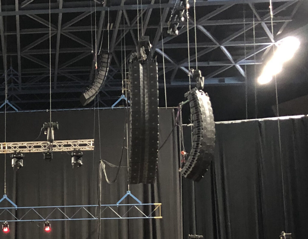 Sound Systems | Tour Reinforcement | Audio System Rentals