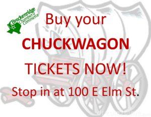 Chuckwagon BUY NOW flyer